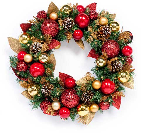 This wreath may contain traces of nuts...This wreath may contain traces of nuts...